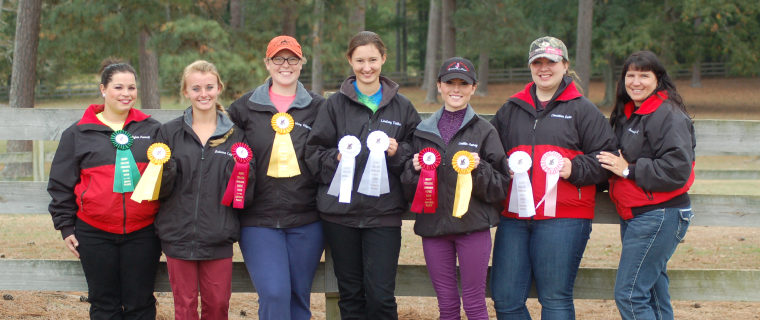 Jc Equestrian Team Shows At Berry College Judson College