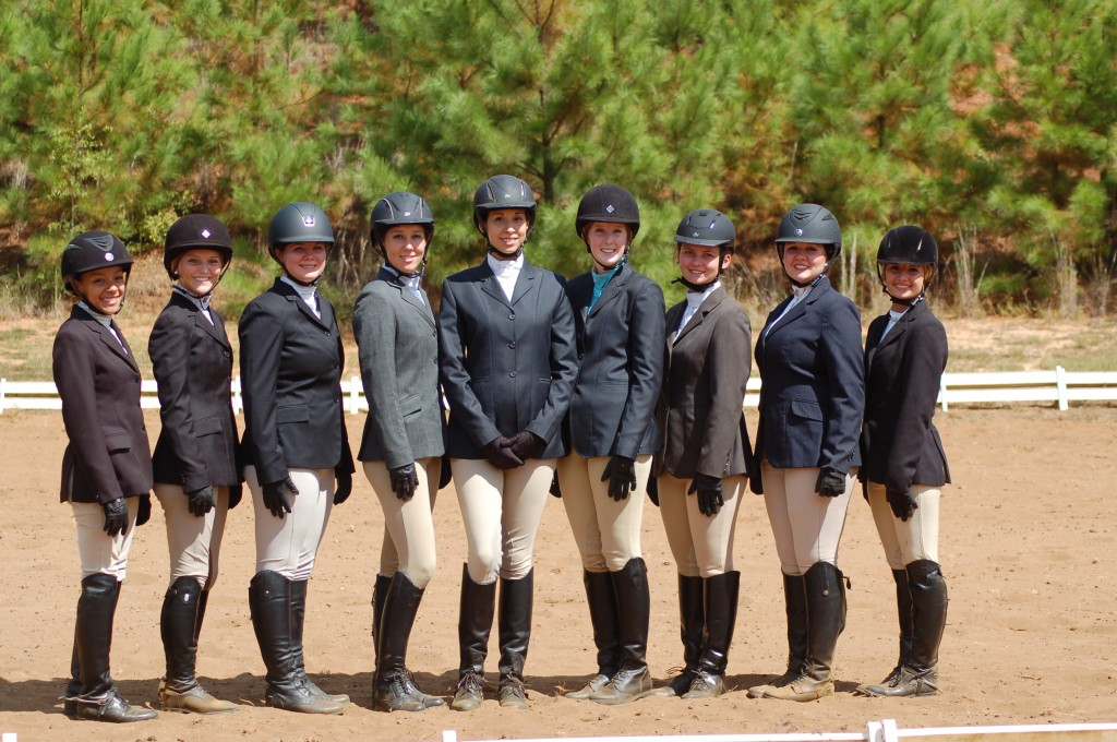 Judson College Equestrian Teams Show At Berry College